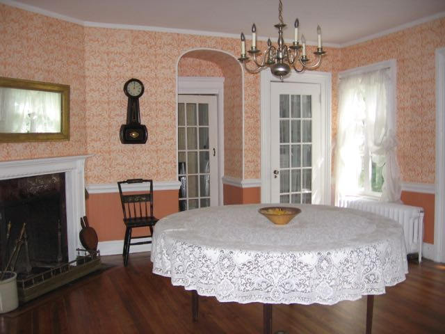 The Mead House dining room